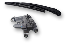 Rear wiper systems