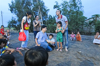 A visit to an orphanage in Vietnam